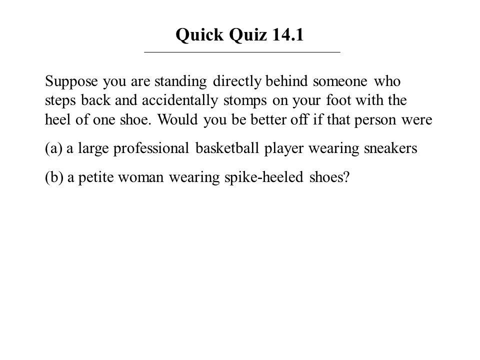 Quick Quiz 14.1