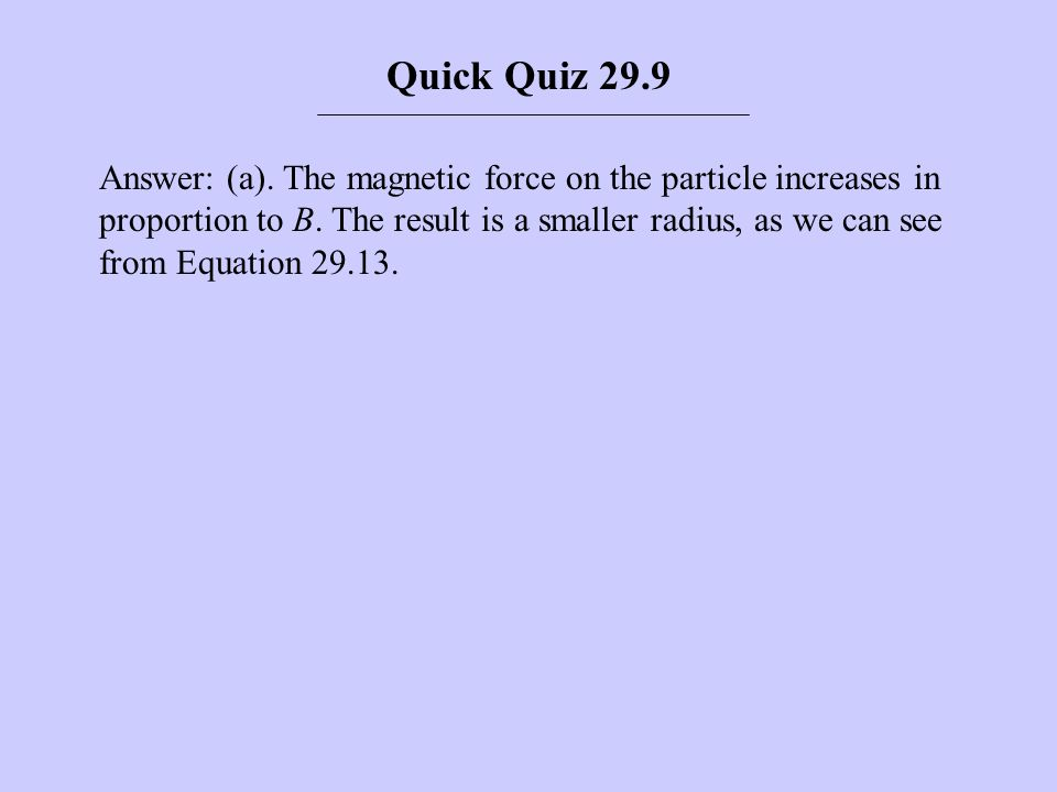 Quick Quiz 29.9