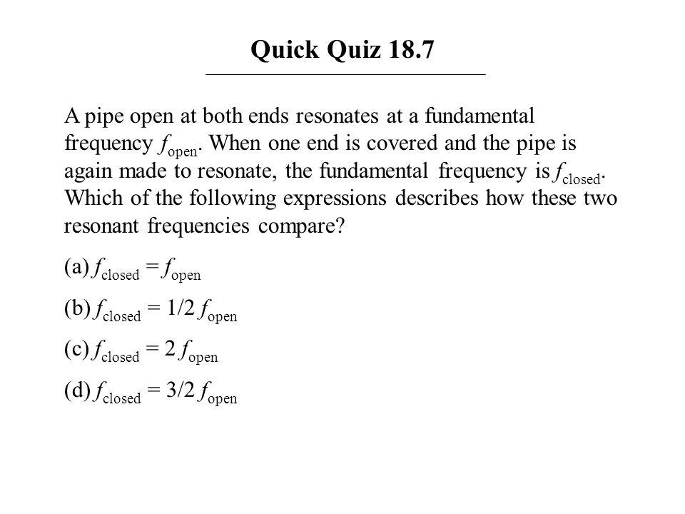Quick Quiz 18.7