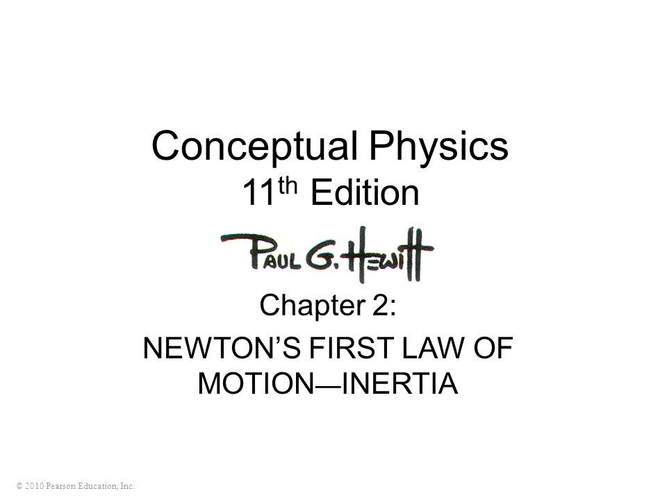 Conceptual Physics 11th Edition