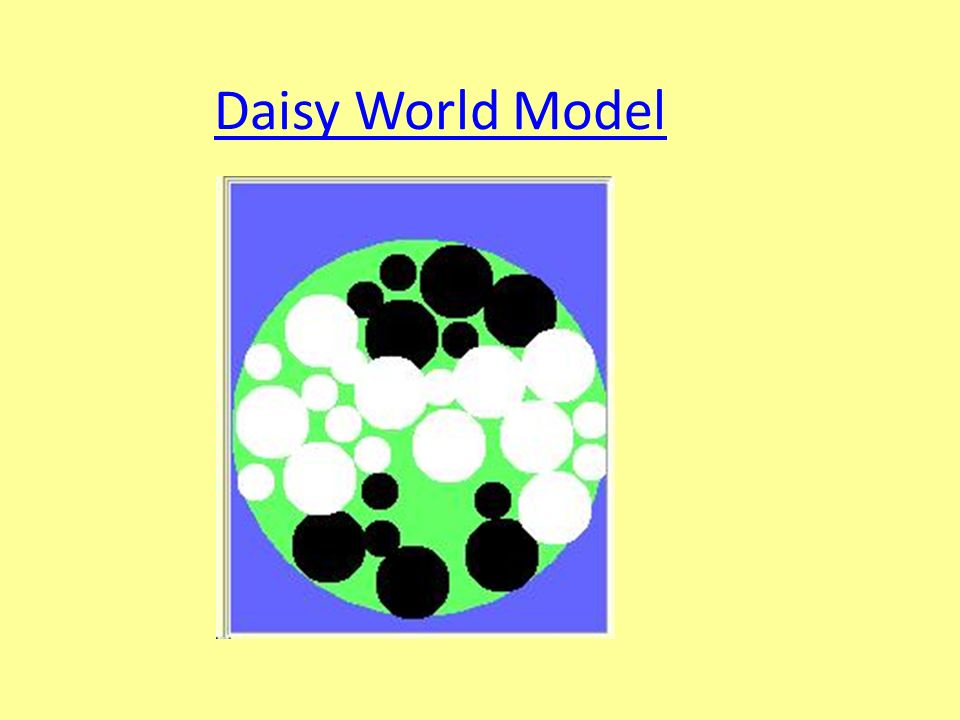 Daisy World Model