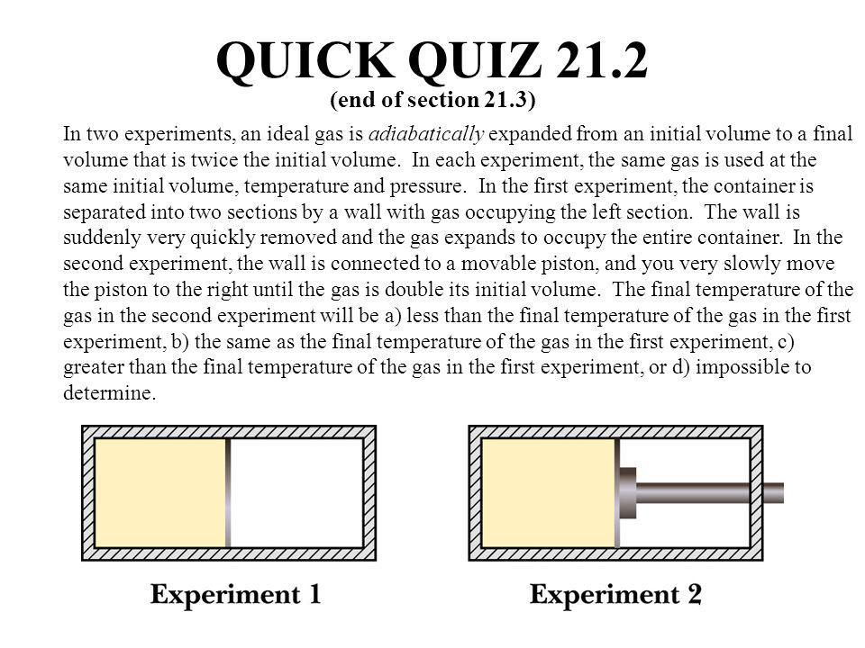 QUICK QUIZ 21.2 (end of section 21.3)