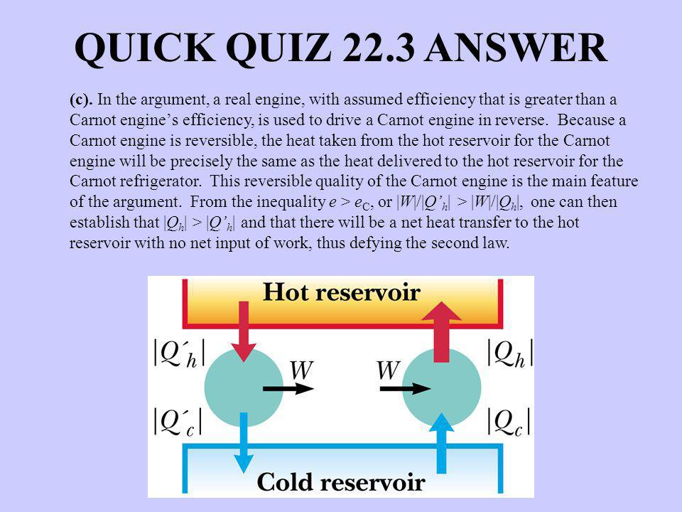 QUICK QUIZ 22.3 ANSWER