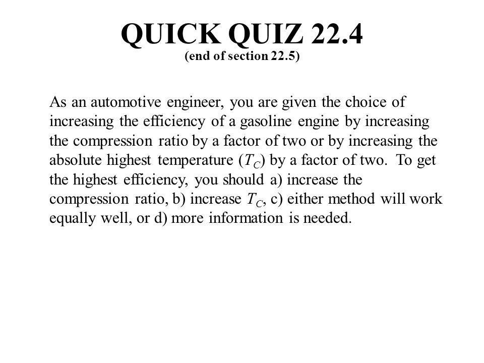 QUICK QUIZ 22.4 (end of section 22.5)