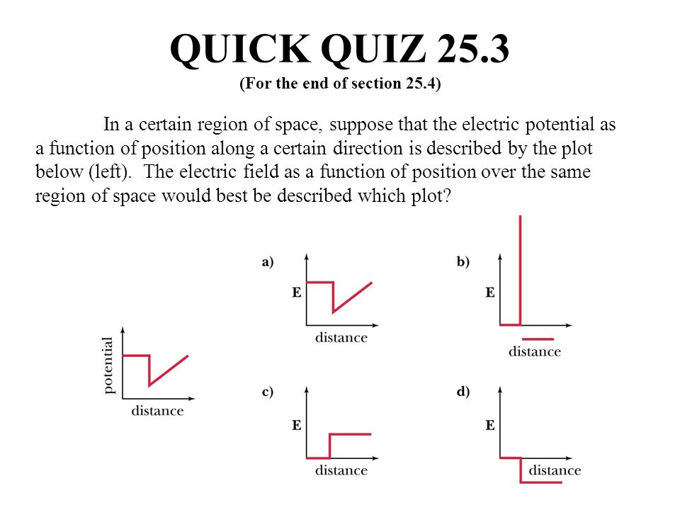 QUICK QUIZ 25.3 (For the end of section 25.4)