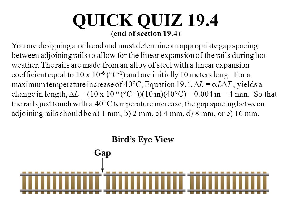 QUICK QUIZ 19.4 (end of section 19.4)