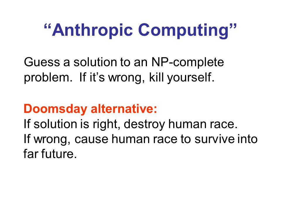 Anthropic Computing