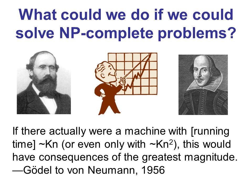 What could we do if we could solve NP-complete problems