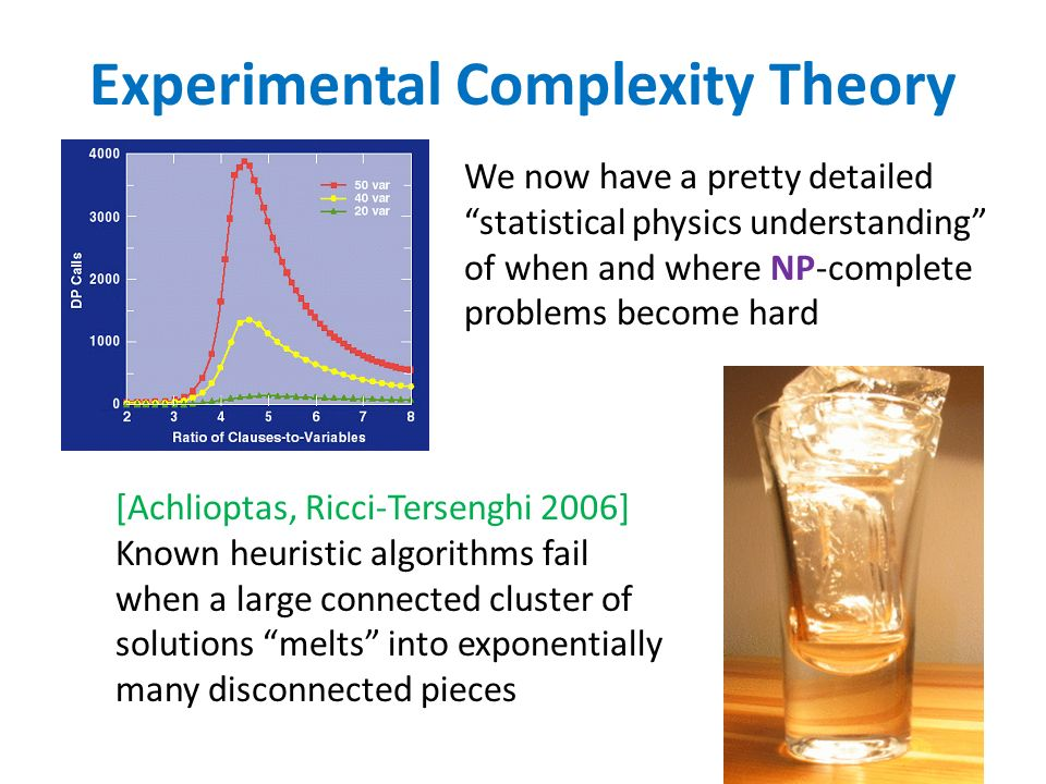 Experimental Complexity Theory