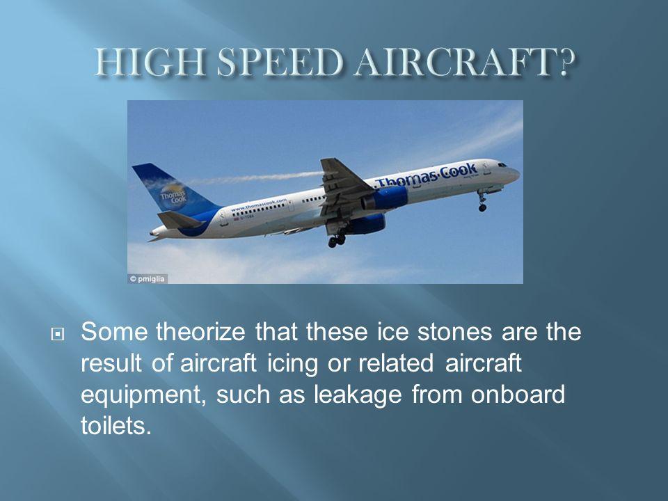 HIGH SPEED AIRCRAFT