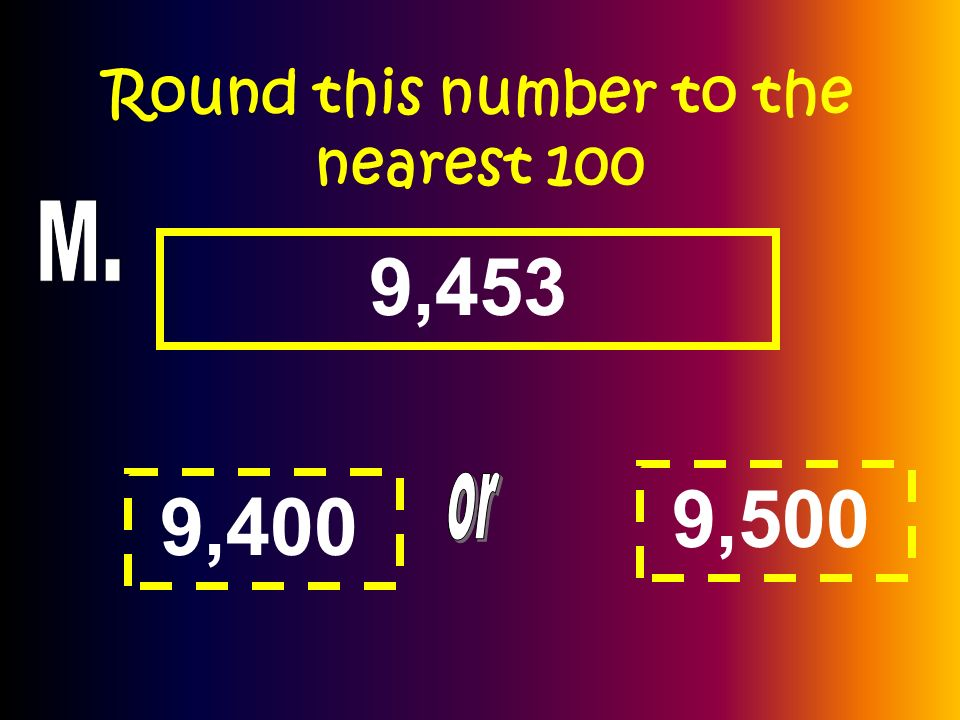 Round this number to the nearest 100