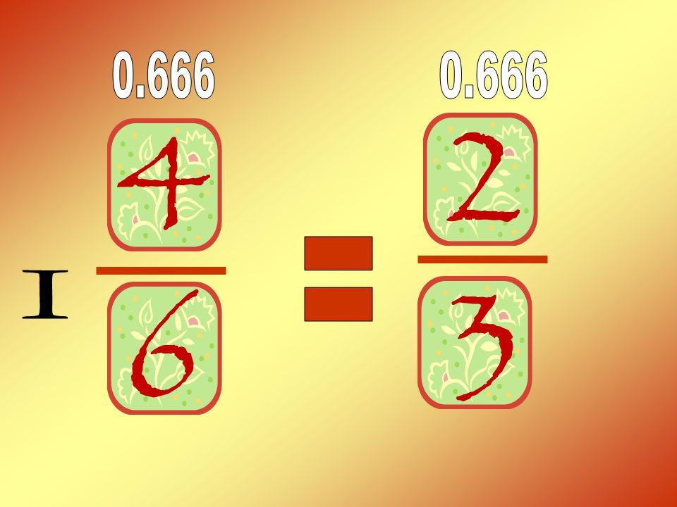 0.666 0.666 = I