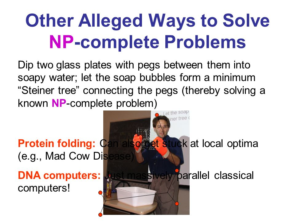 Other Alleged Ways to Solve NP-complete Problems