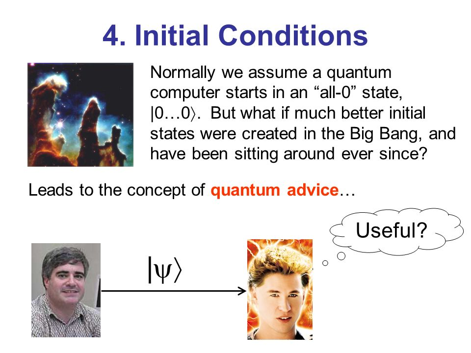 4. Initial Conditions | Useful