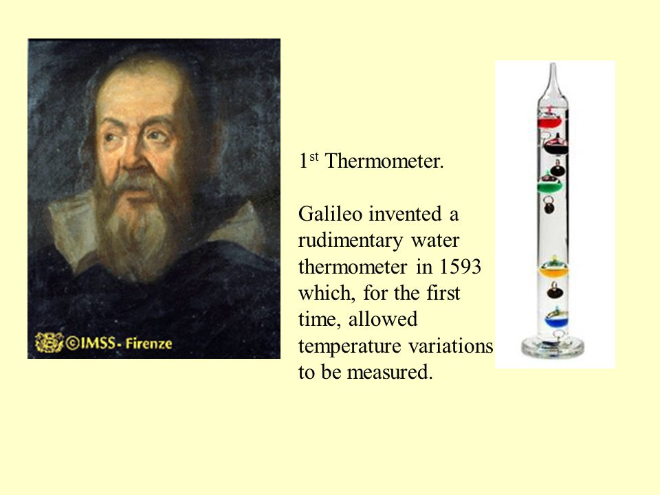 1st Thermometer.