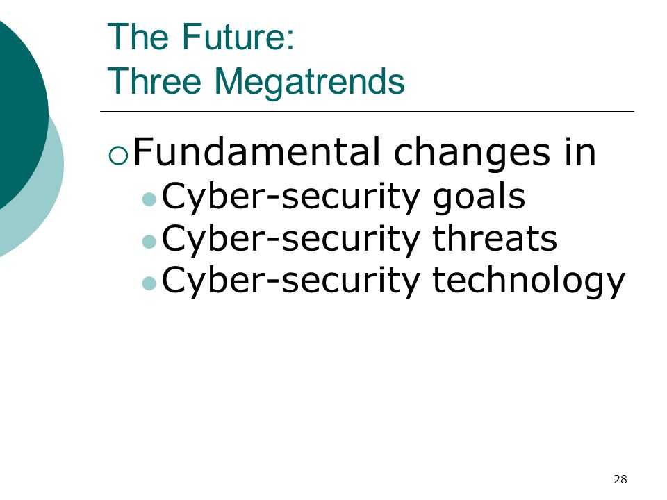 The Future: Three Megatrends