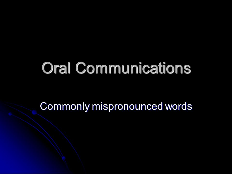 oral english communication •communication games design your own esl oral communicative activity for a beginners' class based upon what you've learned in this unit 2.
