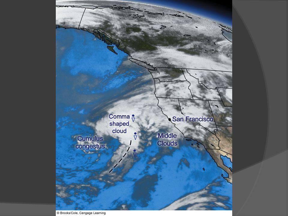 FIGURE 13. 22 Infrared satellite image taken at 6:45 a. m