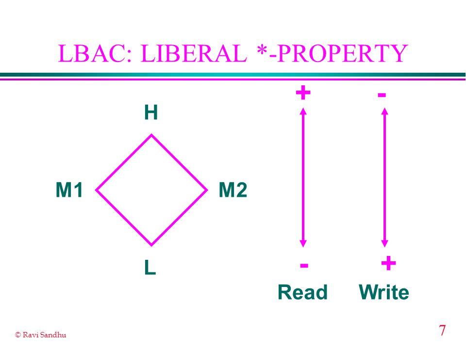LBAC: LIBERAL *-PROPERTY