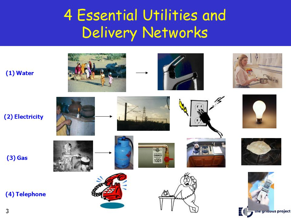 4 Essential Utilities and Delivery Networks