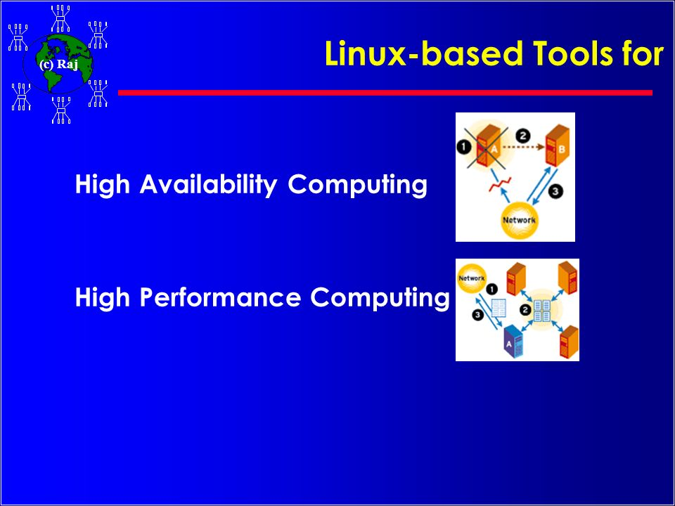 Linux-based Tools for High Availability Computing