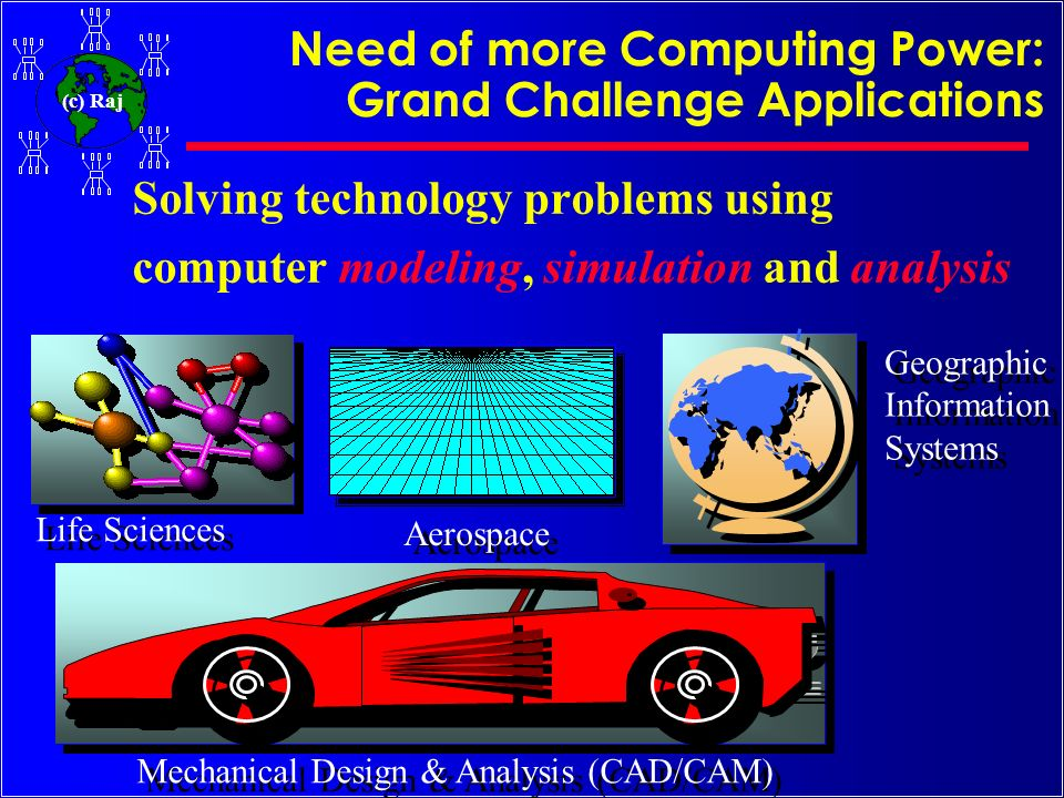 Need of more Computing Power: Grand Challenge Applications