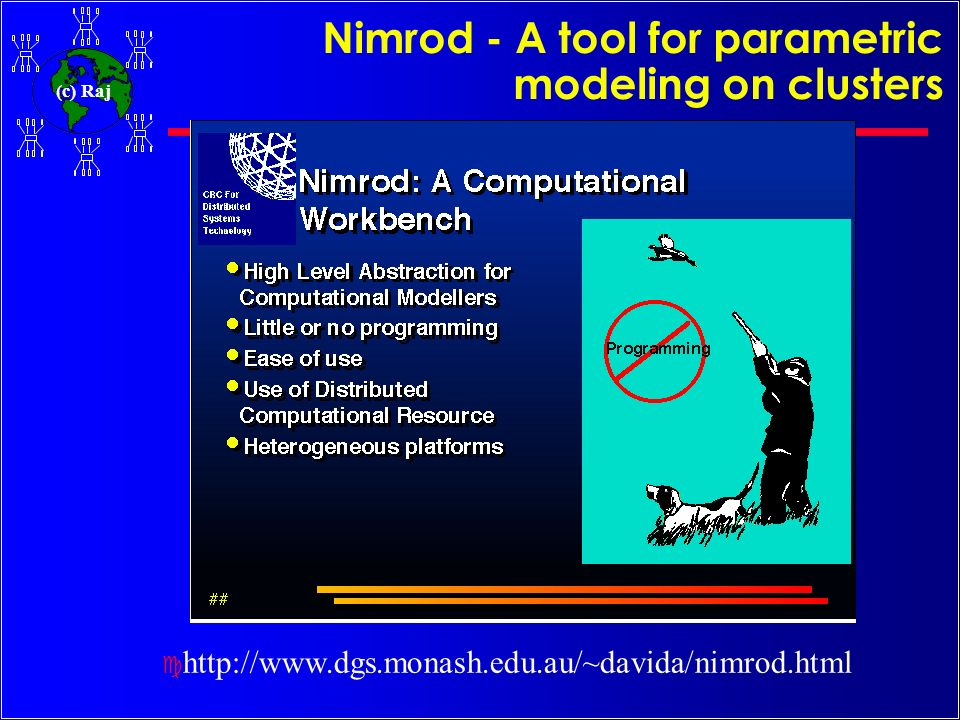 Nimrod - A tool for parametric modeling on clusters