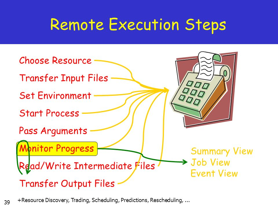 Remote Execution Steps