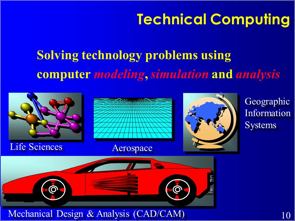 Technical Computing Solving technology problems using
