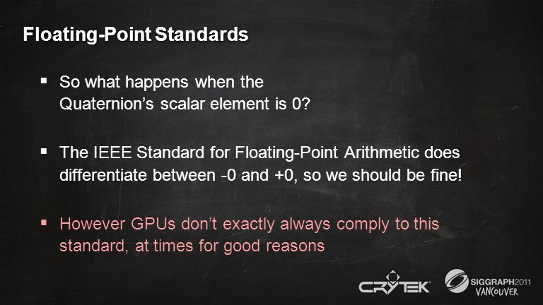 Floating-Point Standards