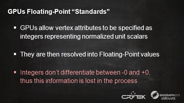 GPUs Floating-Point Standards