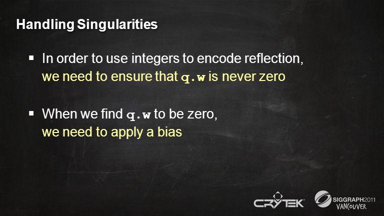 Handling Singularities