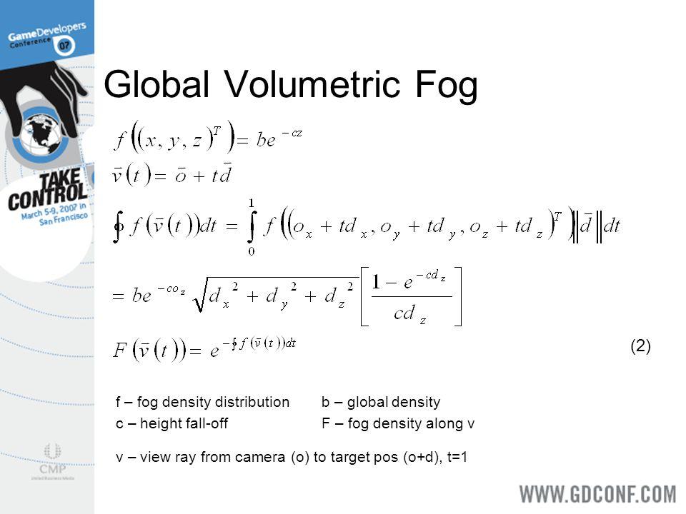 Global Volumetric Fog (2)