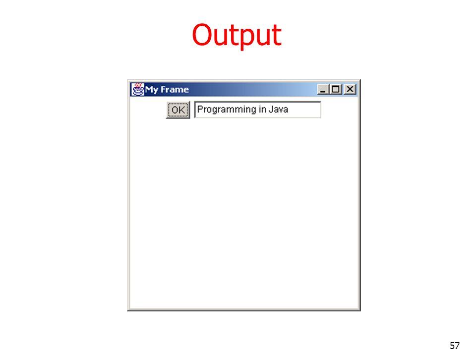 Output output