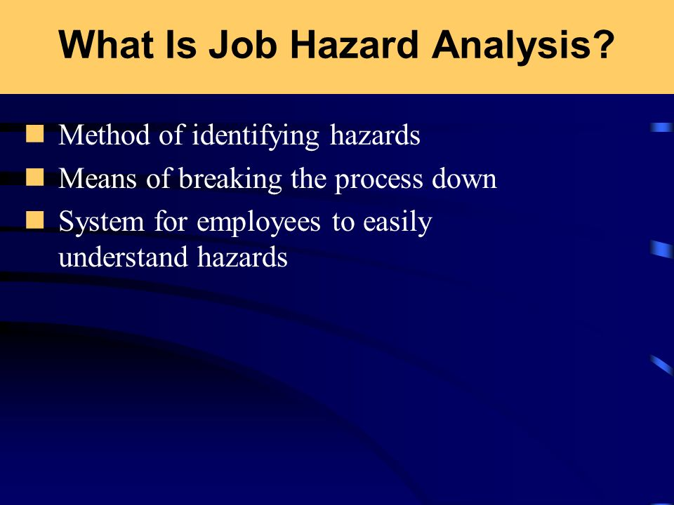 What Is Job Hazard Analysis