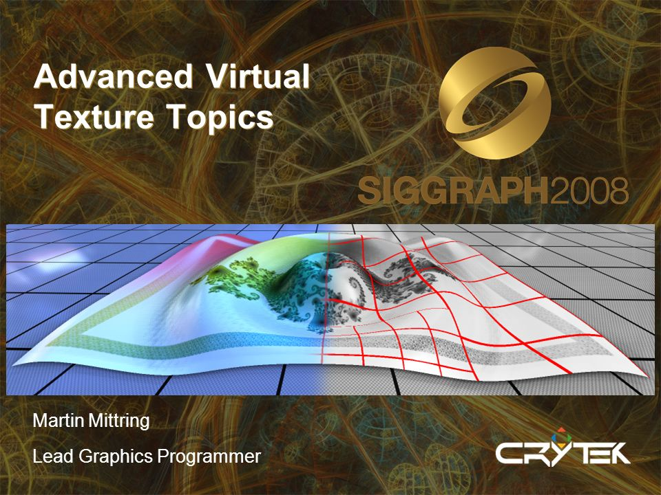 Advanced Virtual Texture Topics