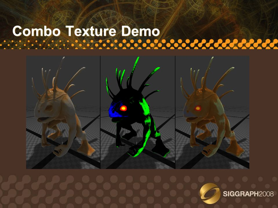 Combo Texture Demo Take a pause