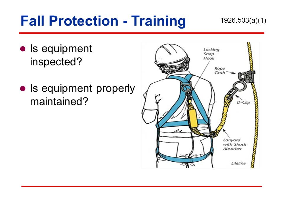 Fall Protection - Training