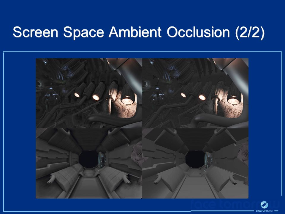 Screen Space Ambient Occlusion (2/2)