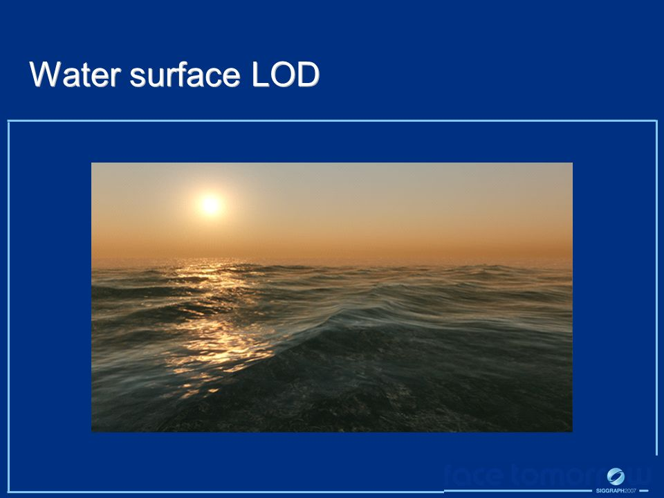 Water surface LOD
