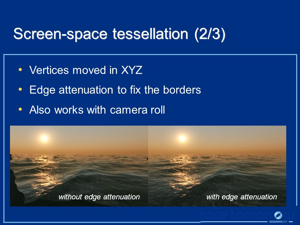 Screen-space tessellation (2/3)