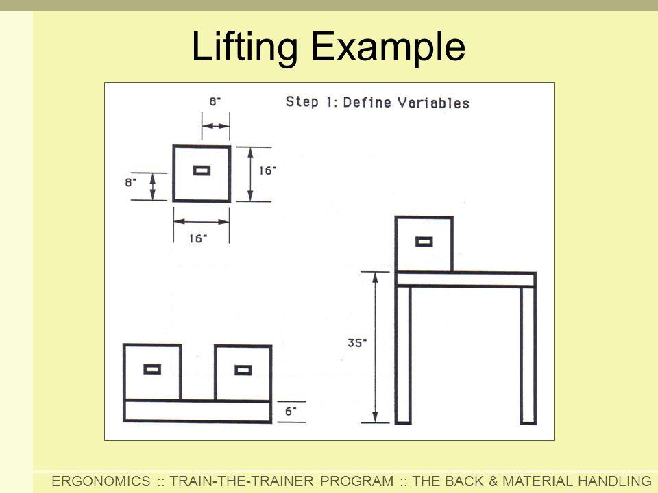 Lifting Example