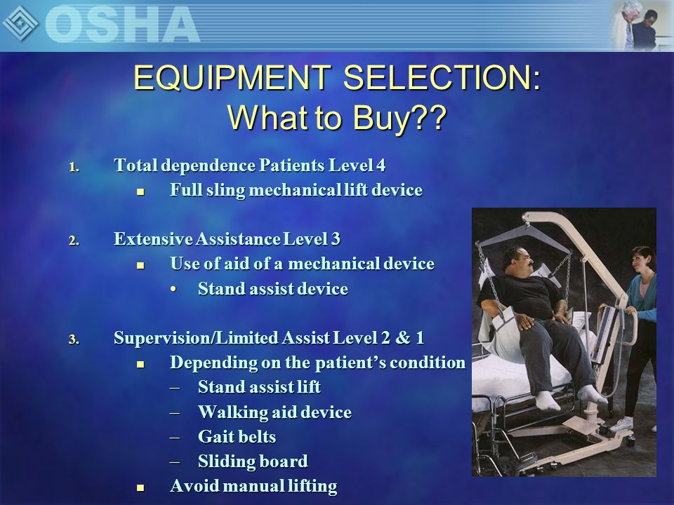 EQUIPMENT SELECTION: What to Buy