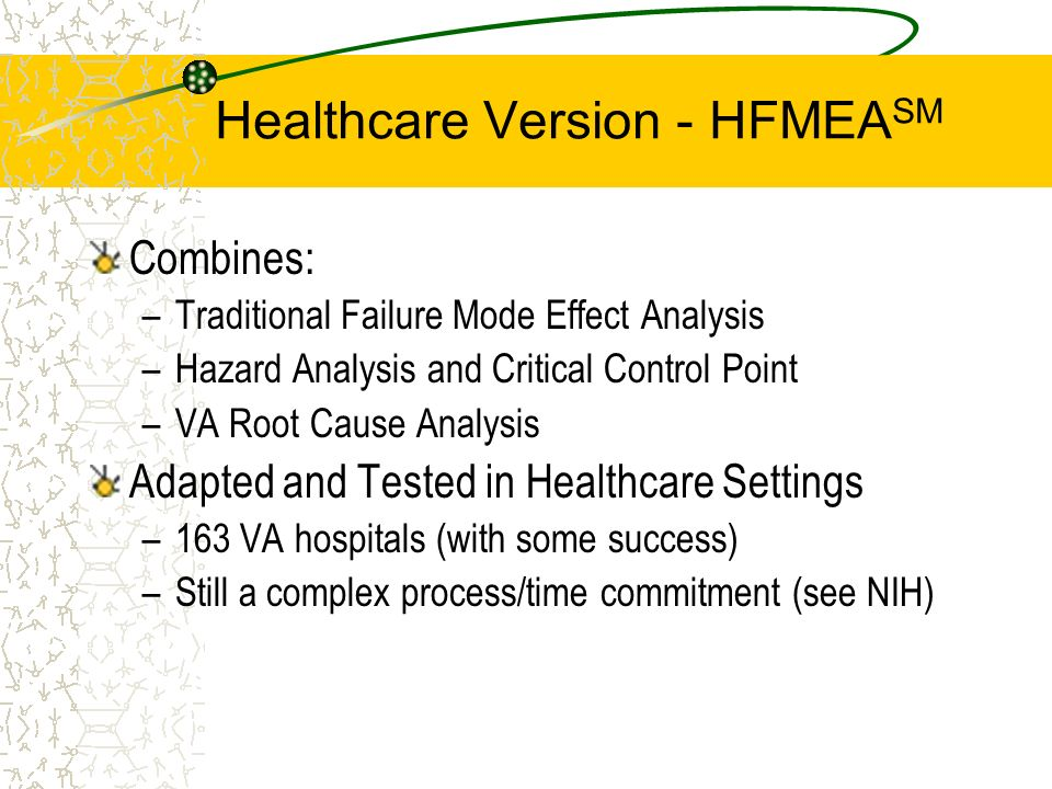 Healthcare Version - HFMEASM