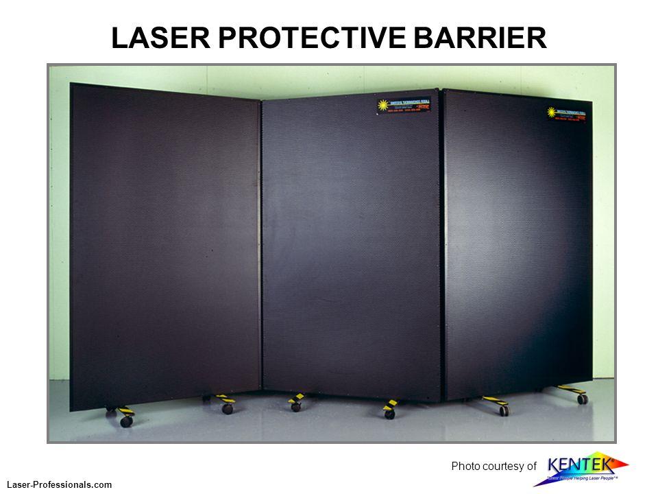 LASER PROTECTIVE BARRIER