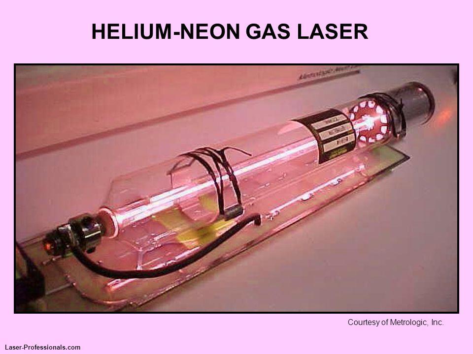 HELIUM-NEON GAS LASER