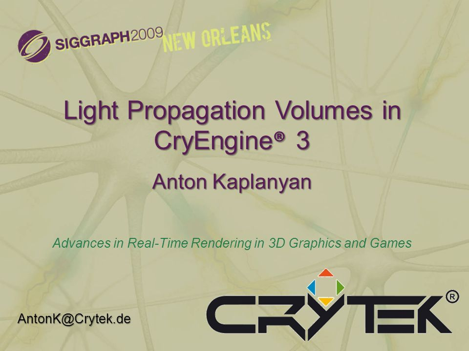 Light Propagation Volumes in CryEngine® 3