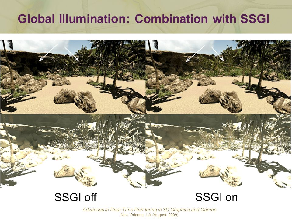 Global Illumination: Combination with SSGI
