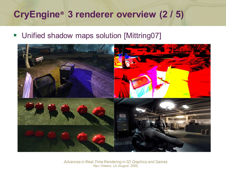 CryEngine® 3 renderer overview (2 / 5)