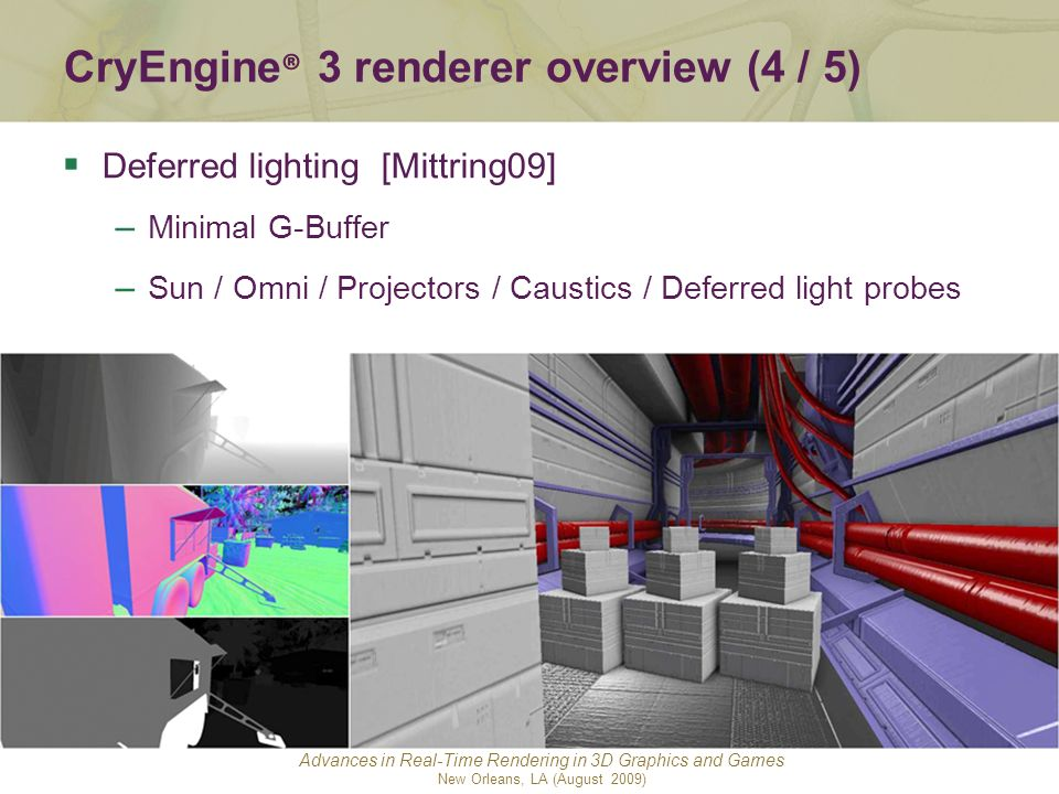 CryEngine® 3 renderer overview (4 / 5)